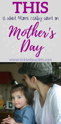 There are much more personal & sentimental ideas that anyone can do for Mother's Day. As a new mom, I appreciate the little things. #mothersday2018 #mothersday #giftideasformom #qualitytime