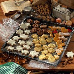 Mürbeteigplätzchen (Weihnachtsgebäck nach Großmutters Art) Rezept | LECKER
