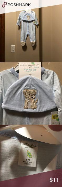 Pajama baby boy BNWT BNWT, very soft. 6 M size Starting Out Intimates & Sleepwear Pajamas