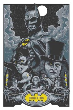 Batman Returns by Steven Holliday