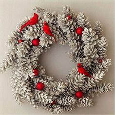 DIY Christmas Décor Ideas Using Pine Cones • Recyclart
