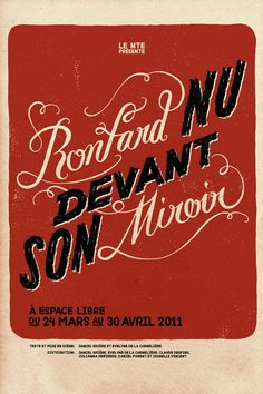 Nouveau Théâtre Expérimental on Typography Served - via http://bit.ly/epinner