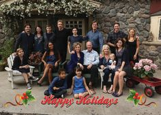 Happy Holidays from the Bravermans! #Parenthood