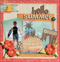 A Project by Madeline from our Scrapbooking Gallery originally submitted 07/31/12 at 08:28 AM