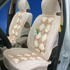 CROCHET CAR ACCESSORIES COVER PATTERN | FREE CROCHET PATTERNS