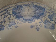 Antique French...Sarreguemines...Dish by cheztoietmoi on Etsy, €75.00