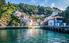 Idyllic fishing villages like Cudillero are hard to come by in modern-day Spain; however, this town in Asturias has managed to retain its timeless charm. Places In Spain, Places To Visit, World's Most Beautiful, Beautiful Places, Fishing Villages, Spain Travel, Amazing Destinations, Small Towns, Countryside