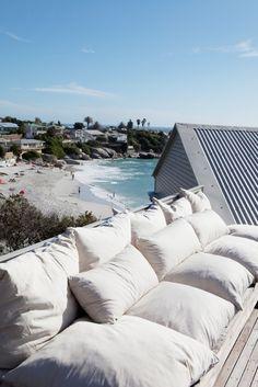 overlooking Clifton Beach, Cape Town