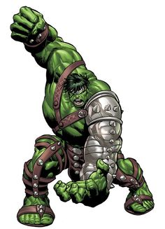 'World War' Hulk (Green Scar) vs. Darkseid