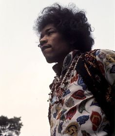 Jimi Hendrix- Best taste in clothes!