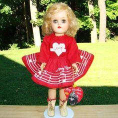 1953 Ideal Toni Mary Hartline Doll Super Circus Star P-91 HP Walker