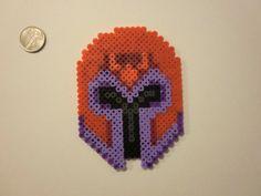 """X-Men """"Magneto's Helmet"""" Perler Magnet. $6.00, via Etsy."""