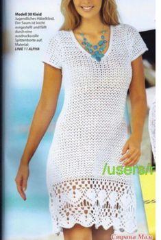 Awesome Benefiting From Beginners Crochet Ideas Crochet Summer Dresses, Crochet Lace Dress, Crochet Shirt, Knit Dress, Knit Crochet, Korean Traditional Dress, Hippie Crochet, Boho Style Dresses, Crochet Fashion
