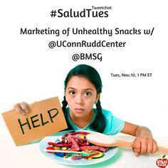 #SaludTues Tweetchat 11.10.15 Co-hosts: @UConnRuddCenter @BMSG