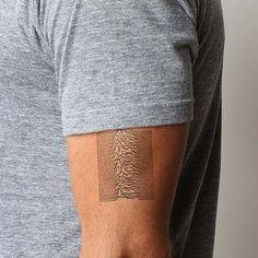 Fancy - Joy Division Temporary Tattoo Set