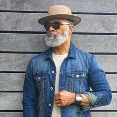 Sunday Funday...working    #dapper #fashion #silverfox #beardedgentleman #beardoil  #houston #chicago #miami #ny #settle #philly #dallas #atl