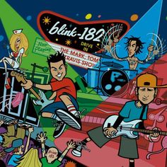 srcvinyl Reissuing Blink 182 Deluxe Edition Vinyl - 'The Mark, Tom and Travis Show' Out May 24WithGuitars