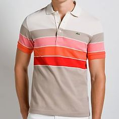 This is a polo shirt. I chose this because I like polo shirts. Custom Polo Shirts, Sports Polo Shirts, Golf Shirts, Lacoste Clothing, Lacoste Polo Shirts, Polo Shirt Outfits, Embroidered Polo Shirts, Casual Shirts, Men Casual