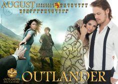 Outlander August calendar