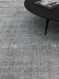 Levi Rug - Hand woven wool and luxurious artsilk rug, with a delicate linear pattern. No custom options. Professional Cleaners, Linear Pattern, Townhouse, Hand Weaving, This Is Us, Delicate, Treats, Wool, Contemporary