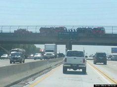 Sean Misner Memorial: Firefighters Salute Fallen Hero On 500-Mile Journey Home