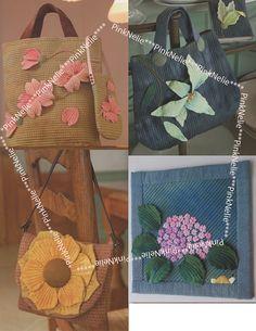3D fiori patchwork artigianato giapponese libro di PinkNelie