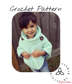 Several interesting ponchos crochet. Has added.