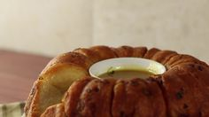 Traditionally, monkey bread is sweet, this version will be savory with ham and cheddar cheese.