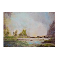 Dusk at Lake Lure Canvas Art Print | Kirklands 199.99