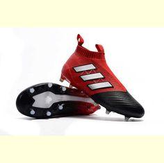 best sneakers 4dc02 5a98e MEN 固定式 赤黒白 アディダス エース 17+ ピュアコントロール エフジーADIDASスポーツウェア 2017SS