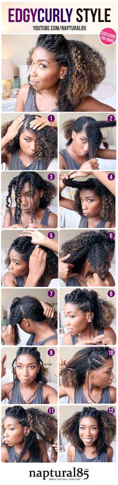 best party hair tutorials