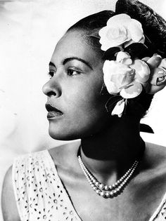 Lady Day, herself!  They just don't make 'em like Billie Holiday anymore.