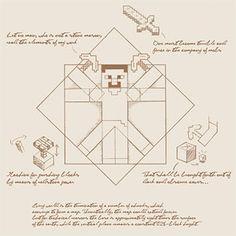 Amazing! / La Divina Proporción de Leonardo Da Vinci, en Minecraft