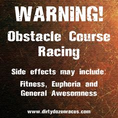 Obstacle Course Racing FTW! http://www.dirtydozenraces.com Dirty Dozen Races Obstacle Course Racing.