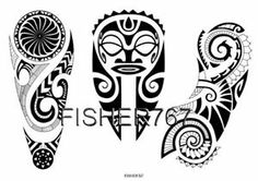 Polynesian Tattoo Flash | Details about Maori Hawaiian Polynesian Style Tattoo Flash Designs CD