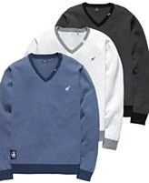 NEW! LRG Sweater, Long Sleeve V Neck Sweater  $69.00