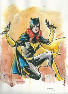 Batgirl by Dave Stokes