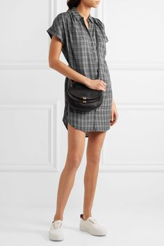 Madewell | Plaid flannel shirt dress | NET-A-PORTER.COM