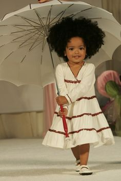[NATURAL KIDS] OMG! Look at that face and those curls! #naturalhair #naturalkids