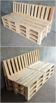 Classy diy ideas out of recycled wood pallets idea поддоны, Pallet Patio Furniture, Pallet Sofa, Reclaimed Wood Furniture, Diy Furniture Projects, Diy Pallet Projects, Wood Projects, Pallet Bench Diy, Recycled Pallets, Wood Pallets