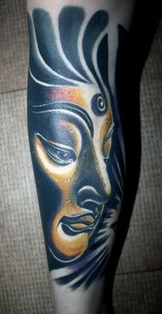 Although not a buddhist myself, I do have an appreciation for the shape/lines of the buddha image. This is particularly nice with the shading!