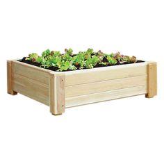 Cedar garden bed. Made in the USA.     Product: Garden bedConstruction Material: CedarColor: Natural