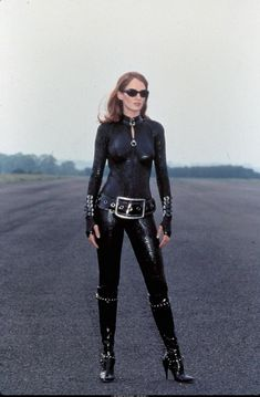 Uma Thurman as Emma Peel.  There's a common dramatic element, but they're fundamentally different.