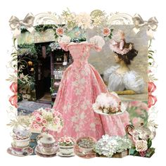 Time For Tea, created by pinkfrosting2 on Polyvore