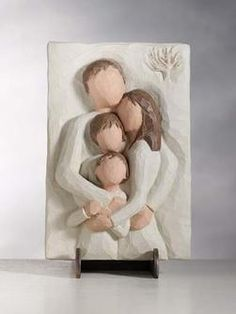 Willow Tree Family Plaque, representing the love I have for my husband and sons.