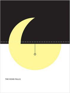 The Echo Falls Poster by Jason Munn