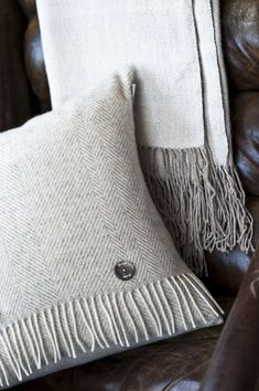scarf cushions, get them from a charity shop and sew them into these lovely cushions.