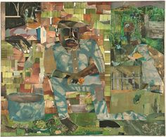 by Romare Bearden. Combined with the image of a train racing across the horizon, the title is emblematic of the longing embodied in the African American Great Migration--for a better life in the north and for the comforting familiarity of home in the south.