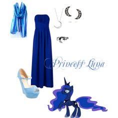 """""""Princess Luna"""" by grace-buerklin on Polyvore"""