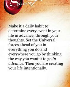 Creating your life intentionally! Positive Affirmations Quotes, Affirmation Quotes, Positive Quotes, Manifestation Law Of Attraction, Law Of Attraction Affirmations, Secret Law Of Attraction, Law Of Attraction Quotes, Quotes To Live By, Life Quotes